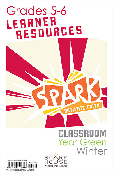Spark Classroom Grades 5-6 Learner Leaflet Winter Year Green