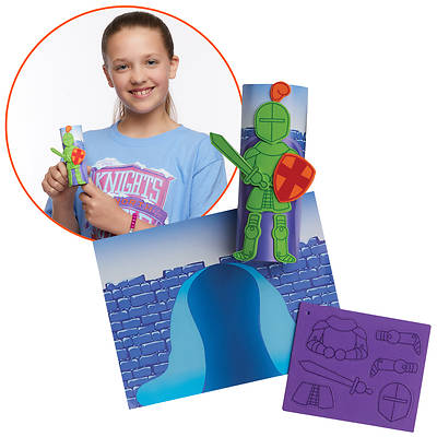 Picture of Vacation Bible School (VBS) 2020 Knights of North Castle Create-Your-Own Knight Kit (Pkg of 12)