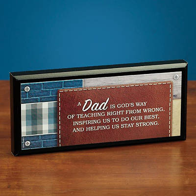 Dad Mini Plaque