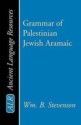 Picture of Grammar of Palestinian Jewish Aramaic