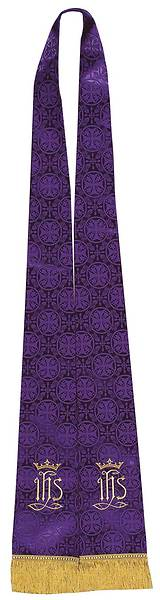 Liturgical Tapestry Purple Stole