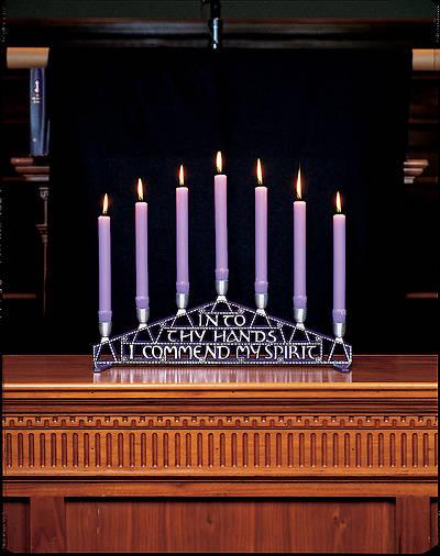 Picture of Cast Metal Tenebrae Altar Candelabra