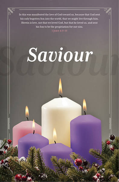 Saviour Advent Regular Size Bulletin