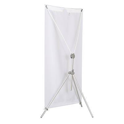 Picture of X-Frame Adjustable Banner Stand