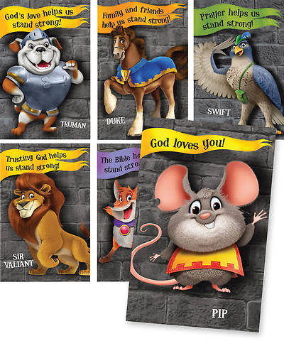 Group VBS 2013 Kingdom Rock Bible Point Posters (set of 6)