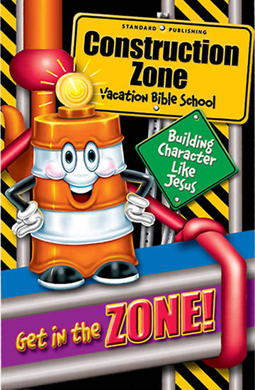 Standard Vacation Bible School 2005 Construction Zone Recruitment Bulletin Insert (Package of 100) VBS