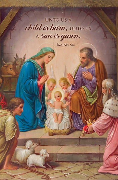 Picture of A Son is Given Bulletin Regular Isaiah 9:6