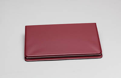Attendance Registration Pad Holder--Dark Red
