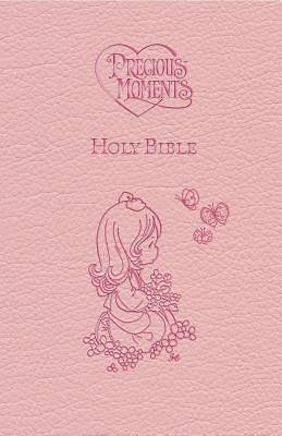 Bible Holy Precious Moments - Pink Edition