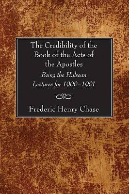 Picture of The Credibility of the Book of the Acts of the Apostles