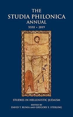 Picture of The Studia Philonica Annual XXXI, 2019