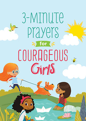 Picture of 3-Minute Prayers for Courageous Girls