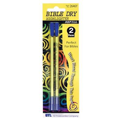 Bible Dry Refill 2pk - Yellow