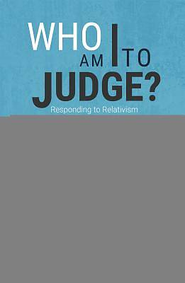 Picture of Who Am I to Judge?