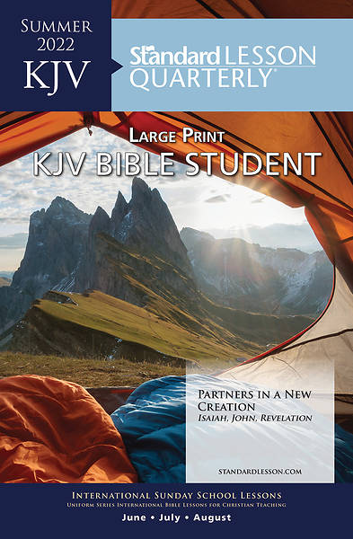 Picture of Standard Lesson Quarterly Adult KJV Student Book Large Print Summer