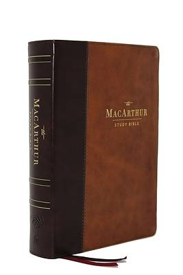 Picture of The Esv, MacArthur Study Bible, 2nd Edition, Leathersoft, Brown, Thumb Indexed