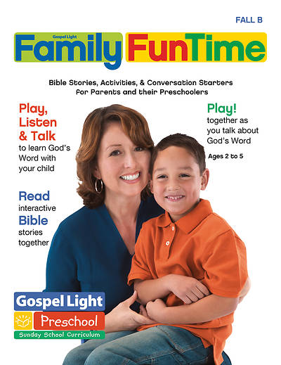 Gospel Light Preschool/Kindergarten Family Fun Time Pages Fall