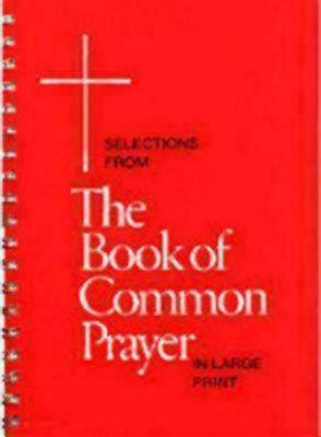 Picture of Selections from the Book of Common Prayer in Large Print