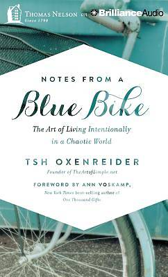Notes from a Blue Bike Audiobook - CD