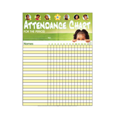 Vacation Bible School (VBS) 2018 Jesus The Kingdom Builder Attendance Chart