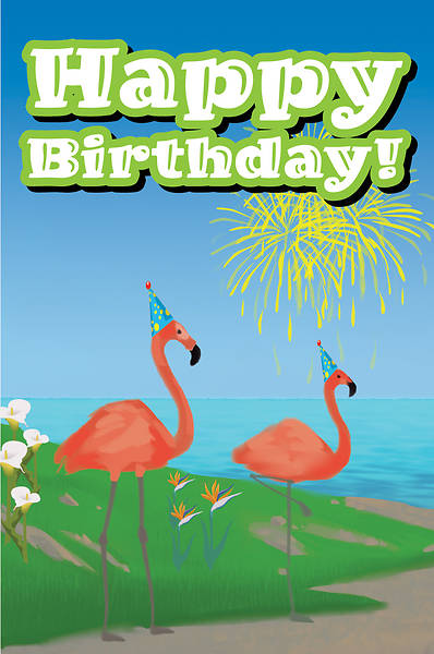Picture of Bible Story Basics Happy Birthday Postcard (Pkg of 25)