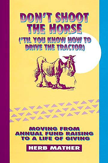 Dont Shoot the Horse -Til You Know How to Drive the Tractor