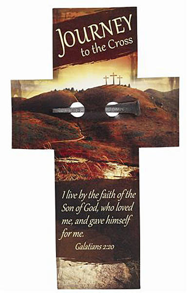 """Journey to the Cross"" Cross Bookmark & Nail"