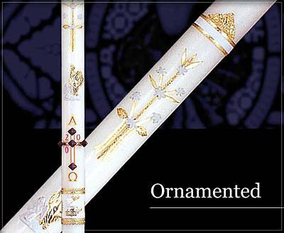 Picture of Ornamented Paschal Candle