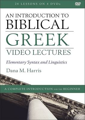 Picture of An Introduction to Biblical Greek Video Lectures