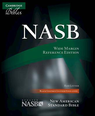 Wide-Margin Reference Bible-NASB