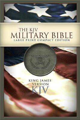 Picture of The KJV Military Bible Large Print Compact Edition