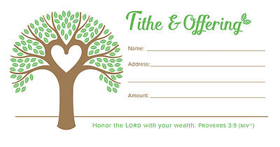 Picture of Giving Tree Tithe and Offering Envelope