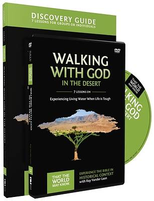 Walking with God in the Desert Discovery Guide with DVD