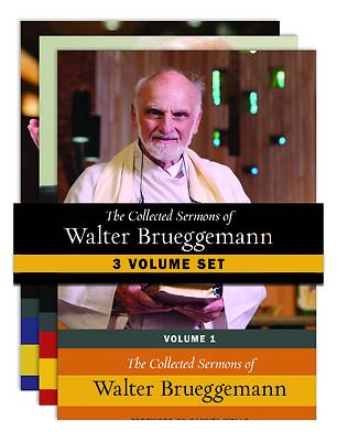 Picture of The Collected Sermons of Walter Brueggemann, 3 Volume Set