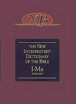 New Interpreters Dictionary of the Bible Volume 3 - NIDB