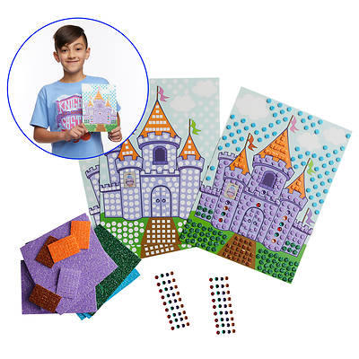 Picture of Vacation Bible School (VBS) 2020 Knights of North Castle Mosaic Castle Scene (Pkg of 12)