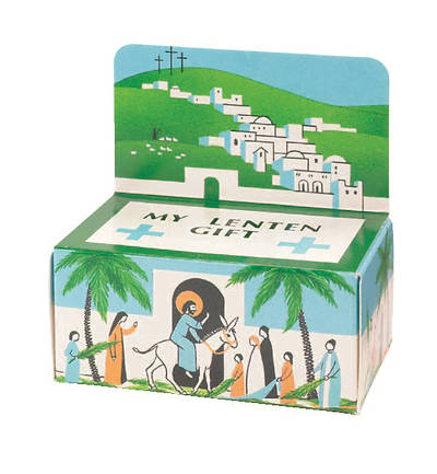 Picture of Jerusalem Lent Offering Box (package of 50)