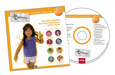 Groups FaithWeaver Preschool CD: Spring 2013
