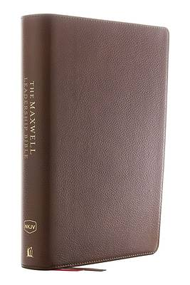 NKJV, Maxwell Leadership Bible, Third Edition, Premium Calfskin Leather, Brown, Comfort Print
