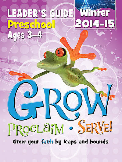 Picture of Grow, Proclaim, Serve! Preschool Leader's Guide Winter 2014-15 - Download Version