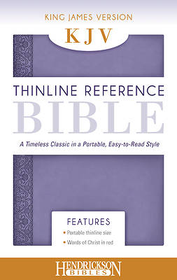 Picture of Thinline Reference Bible-KJV