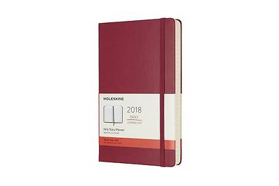 Moleskine 12 Month Daily Planner, Large, Berry Rose, Hard Cover (5 X 8.25)