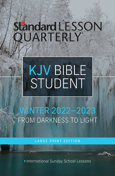 Picture of Standard Lesson Quarterly Adult KJV Student Book Large Print Winter