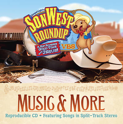 Gospel Light Vacation Bible School 2013 SonWest RoundUp Music & More CD