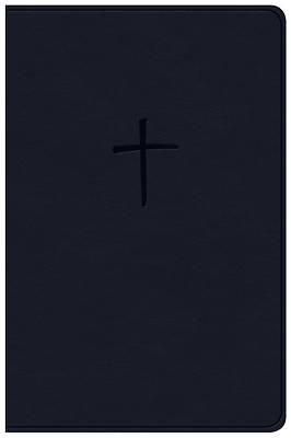 Picture of NKJV Compact Bible, Value Edition Navy Leathertouch