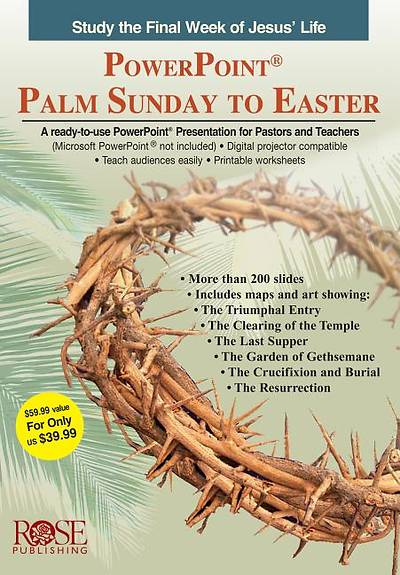 Palm Sunday - PowerPoint