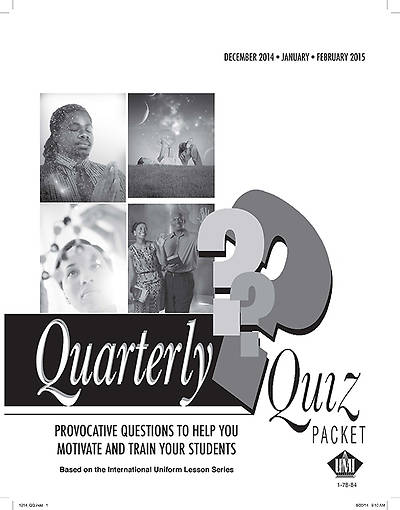 Picture of UMI Quarterly Quiz Pack of 5 Winter 2014-15