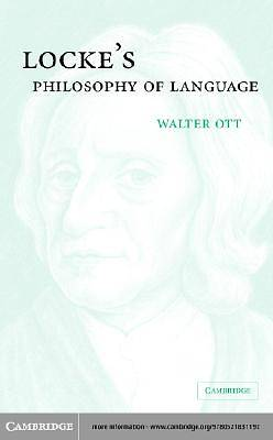 Lockes Philosophy of Language [Adobe Ebook]