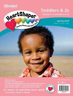 Standards Heartshaper Toddlers 2s Teachers Kit Spring 2013