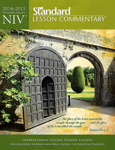 Standard Lesson Commentary NIV Edition 2014-2015